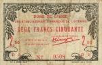 2,5 Prancūzijos Polinezijos ir Okeanijos franko.