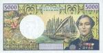 5000 Prancūzijos Polinezijos ir Okeanijos frankų.