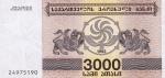 3000 Gruzijos larių.