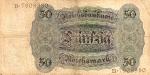 50 Vokietijos markių.