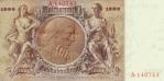 1000 Vokietijos reichsmarkių.