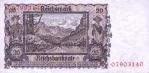 20 Vokietijos markių.