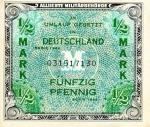 0,5 Vokietijos markės.