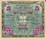 5 Vokietijos markės.