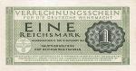 1 Vokietijos reichsmarkė.