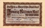 20000000 Vokietijos markių.
