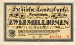 2000000 Vokietijos markių.
