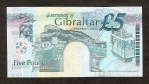 5 Gibraltaro svarų.