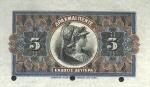 5 Graikijos drachmos.