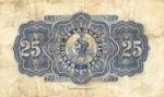 25 Gvadelupės frankai.