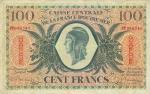 100 Gvadelupės frankų.