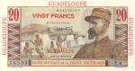 20 Gvadelupės frankų.