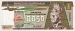 1/2 Gvatemalos kvedzalo.
