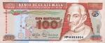 100 Gvatemalos kvedzalų.