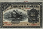 100 Gvatemalos pesų.