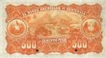 500 Gvatemalos pesų.