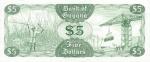 5 Gvianos doleriai.