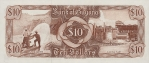 10 Gvianos dolerių.
