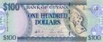 100 Gvianos dolerių.