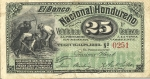 25 Hondūro centavos.