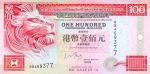 100 Honkongo dolerių.