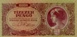 10000 Vengrijos pengų.