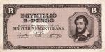 1000000 Vengrijos pengų.