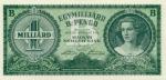1000000000 Vengrijos pengų.
