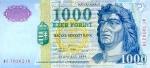 1000 Vengrijos forintų.