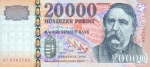20000 Vengrijos forintų.