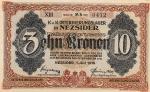 10 Vengrijos kronų.