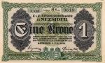 1 Vengrijos krona.