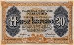 20 Vengrijos kronų.