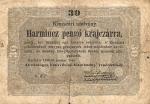 30 Vengrijos pengų.