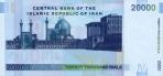 20000 Irano rialų.