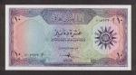 10 Irako dinarų.