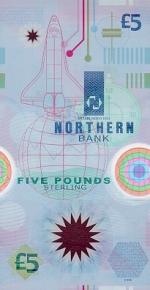 5 Šiaurės Airijos svarų.