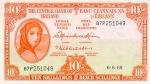 10 Airijos šilingų.
