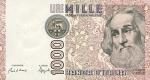 1000 Italijos lirų.