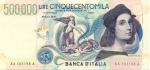 500000 Italijos lirų.