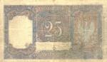 25 Italijos liros.