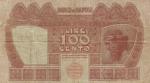 100 Italijos lirų.