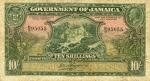 10 Jamaikos šilingų.