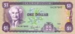 1 Jamaikos doleris.