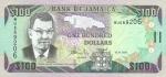 100 Jamaikos doleriai.