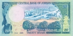 20 Jordanijos dinarų.