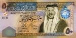 50 Jordanijos dinarų.