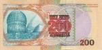 200 Kazachstano tengių.
