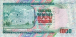 1000 Kazachstano tengių.