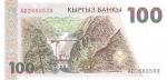 100 Kirgizijos somų.